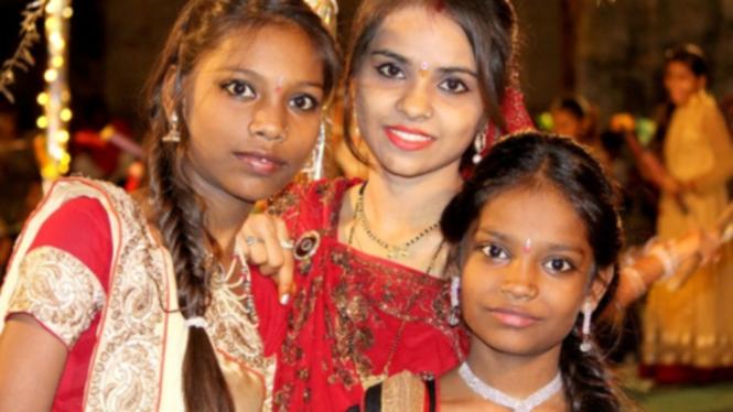 Ilustrasi Remaja India