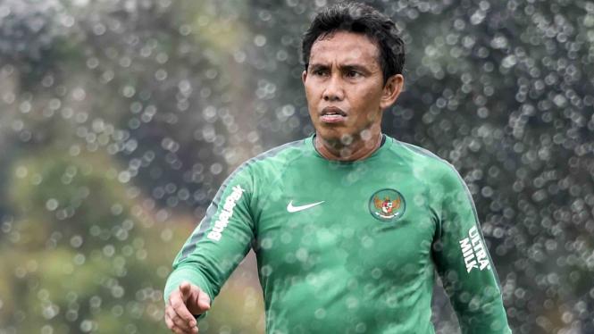Pelatih Timnas Indonesia, Bima Sakti.