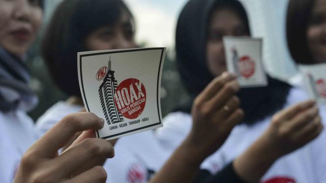Deklarasi anti hoax di Jakarta