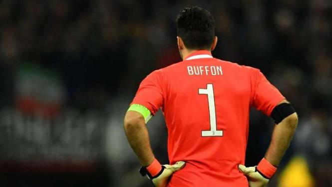 Penjaga gawang Juventus, Gianluigi Buffon