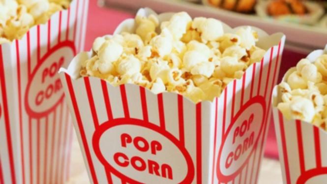 Ilustrasi pop corn