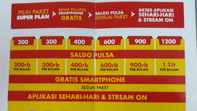 Indosat Super Plan