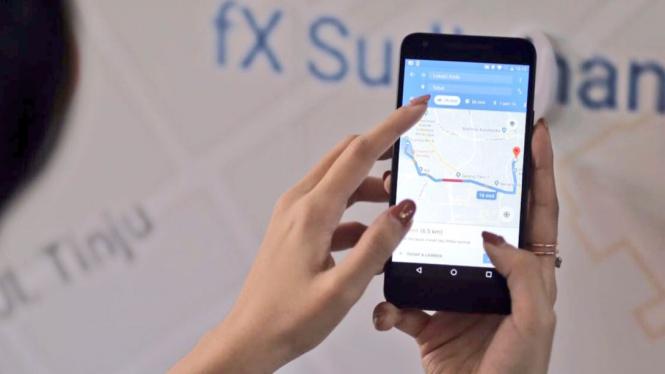 Fitur baru Google Maps.