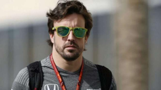 Pembalap F1, Fernando Alonso.