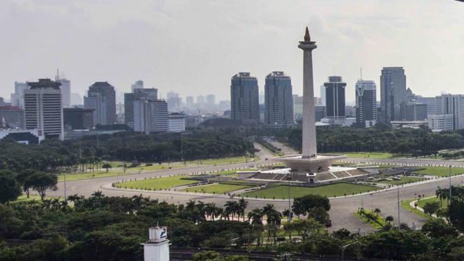 Ilustrasi Monas Jakarta