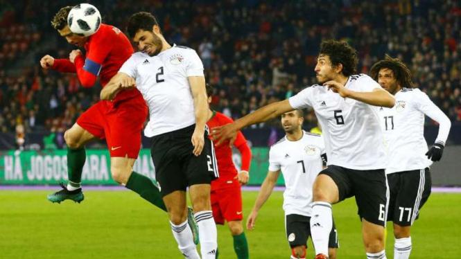 Laga Portugal vs Mesir