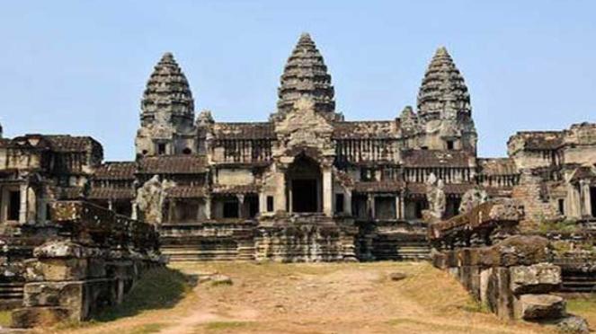Angkor Watt, Kamboja.