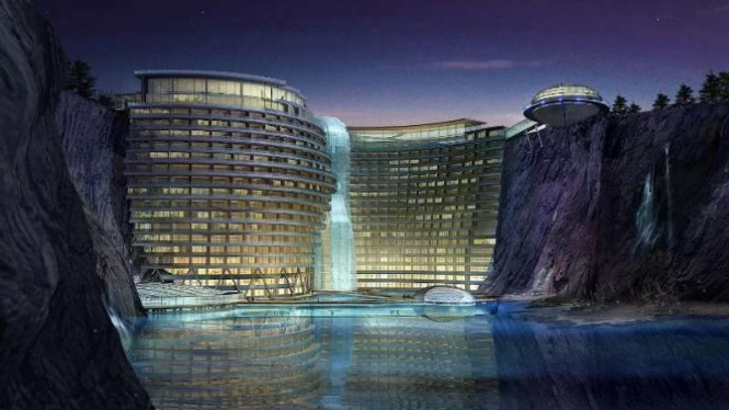 Hotel Shimao Wonderland InterContinental Quarry di Shanghai