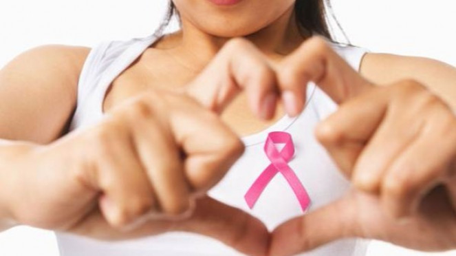 Kanker payudara.
