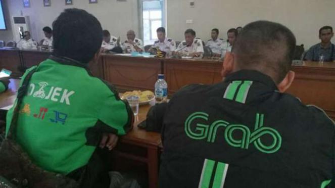 Ojek Online di Samarinda Mogok Juga, Angkot Ketiban Rezeki