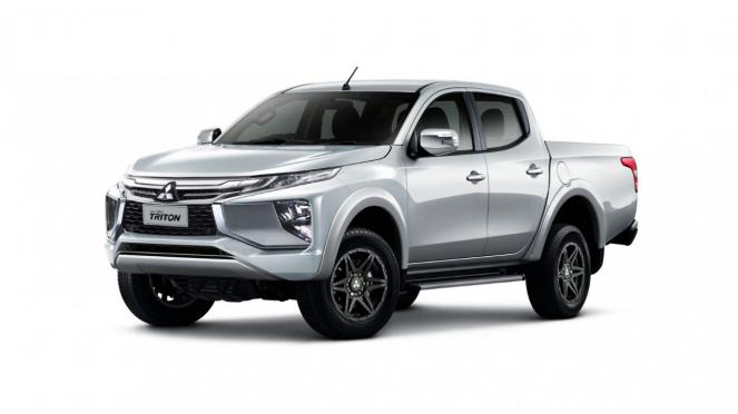 Gambar rekaan Mitsubishi Triton baru