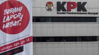 Gedung KPK di kawasan HR Rasuna Said, Jakarta.