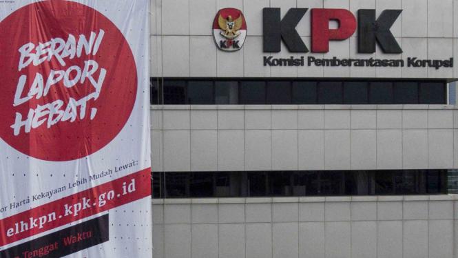 Gedung KPK di kawasan HR Rasuna Said, Jakarta