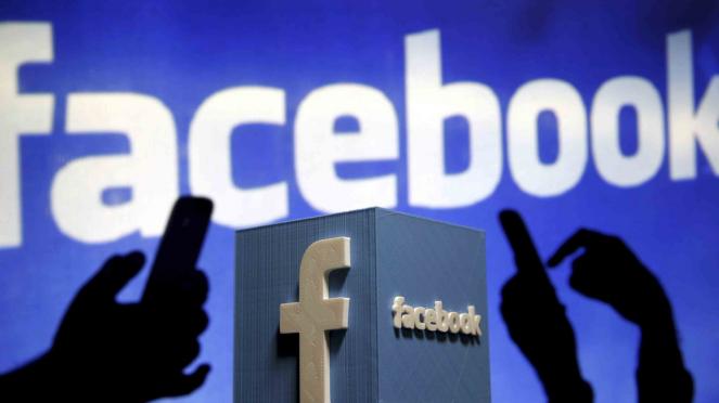 Logo Media Sosial Facebook.
