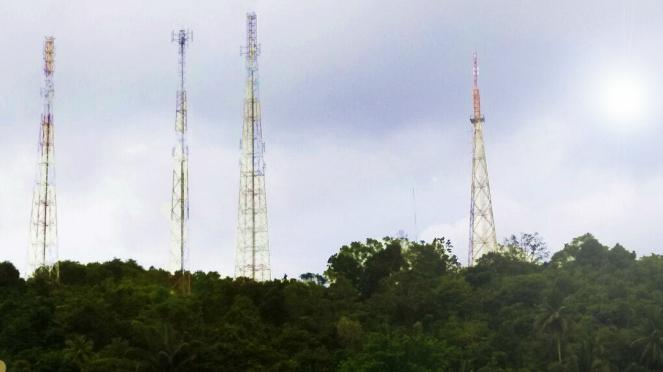 BTS Telkomsel di Anambas