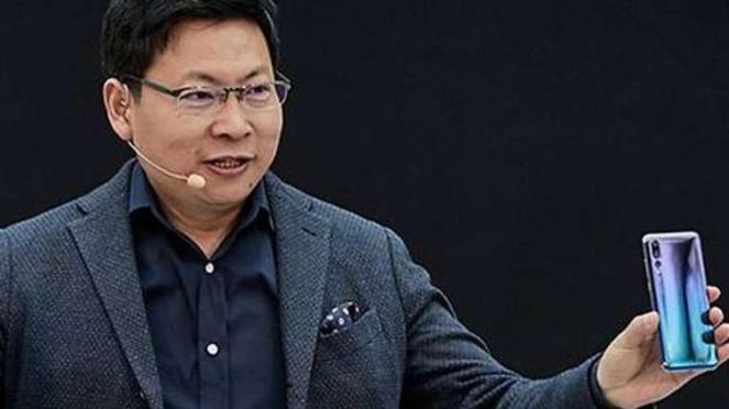 CEO Huawei Richard Yu.