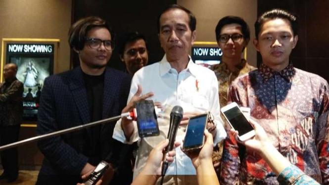 Jokowi Borong 176 Kursi Nonton Film Yowis Ben