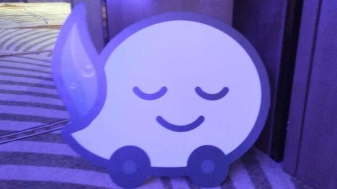 Logo Waze.