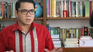 Anggota DPR dari Fraksi PDIP Arteria Dahlan