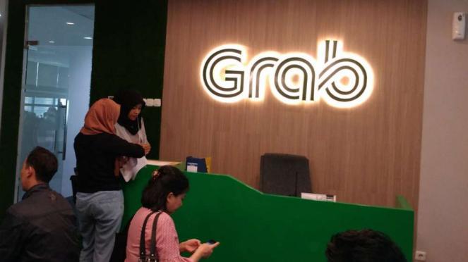 Situasi kantor Grab Indonesia usai akuisisi Uber.