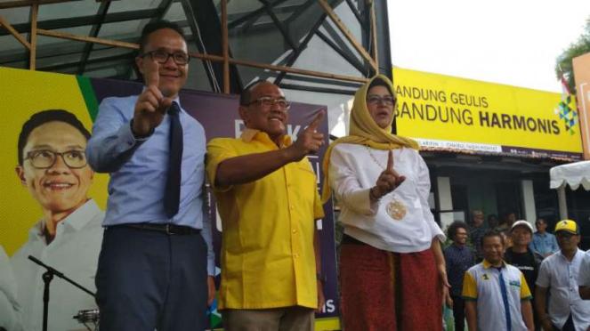 ARB Tak Ragu Kapasitas Nurul Arifin Jadi Wali Kota Bandung