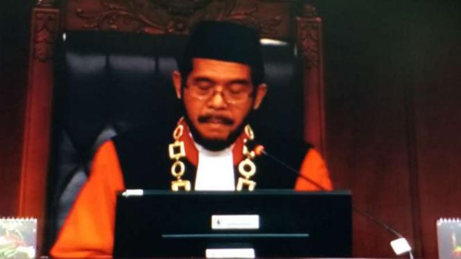 Ketua MK Anwar Usman periode 2018-2020