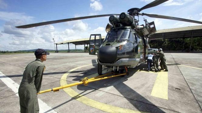 ilustrasi alutsista helikopter TNI.