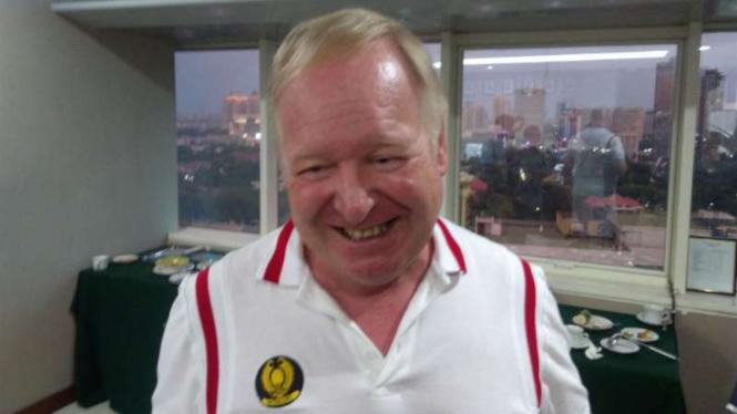 Direktur teknik tim tenis Indonesia, Frank van Fraayenhoven.