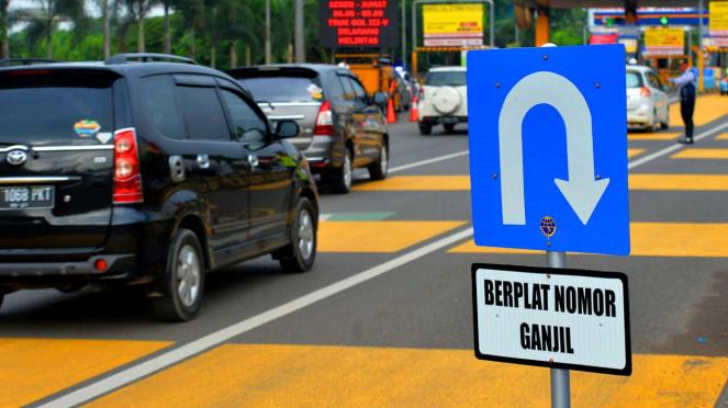 Peraturan Plat Ganjil-Genap di Jalan Tol