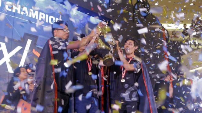 Sorot gamers - Kompetisi Mobile Legend MPL 2018, Tim nxl juara