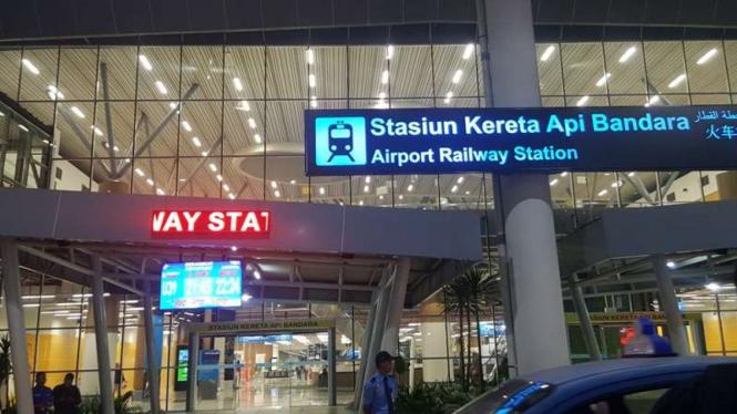Kereta Moderen Asal Korea di Bandara Kualanamu