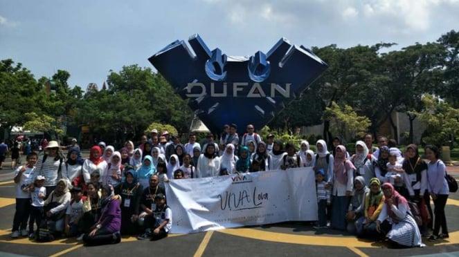 Keseruan acara VIVA Lova di Dufan