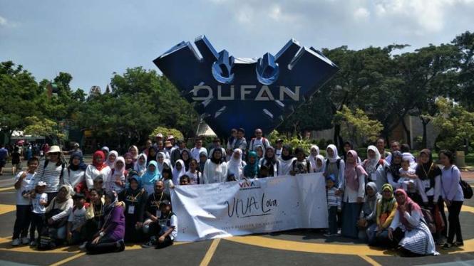 Keseruan acara VIVA Lova di Dufan.