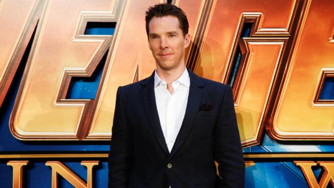 Benedict Cumberbatch, pemeran Doctor Strange dalam Avengers: Infinity War