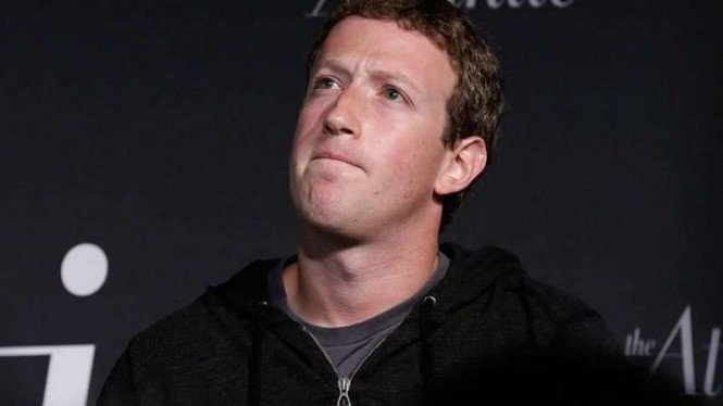 Founder and CEO Facebook Mark Zuckerberg.