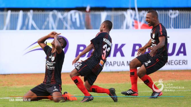 Para pemain Persipura Jayapura.