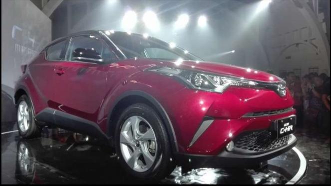 Peluncuran Toyota C-HR di Indonesia.