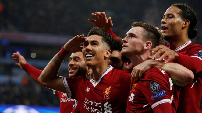 Permalukan Man City, Liverpool ke Semifinal Liga Champions