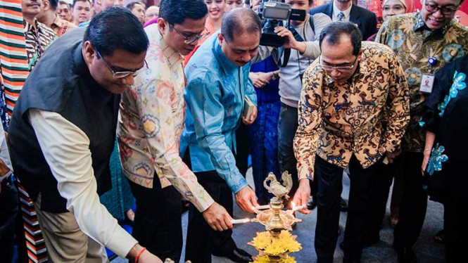 Garuda Indonesia bersama Bank Mandiri gelar Garuda Indonesia Travel Fair (GATF).