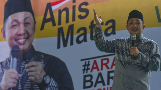 Mantan Presiden Partai Keadilan Sejahtera (PKS) sekaligus calon Presiden 2019, Anis Matta