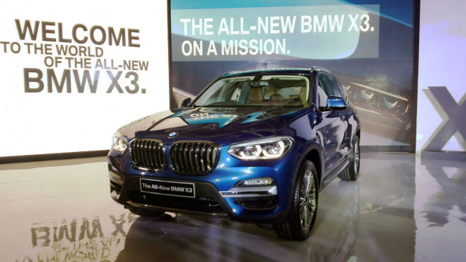 All New BMW X3