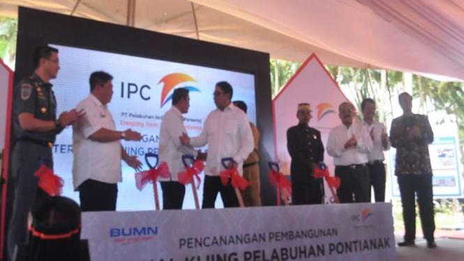 Pelindo II mencanangkan pembangunan Pelabuhan Kijing, Mempawah Kalbar