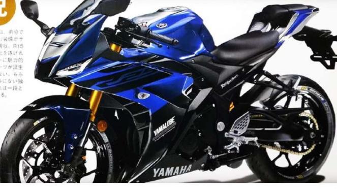 Rendering Yamaha R25 baru