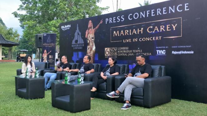 Konferensi Pers Konser Mariah Carey