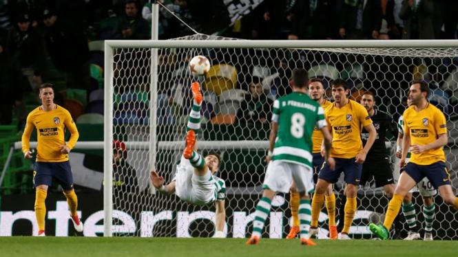 Pertandingan Sporting Lisbon vs Atletico Madrid