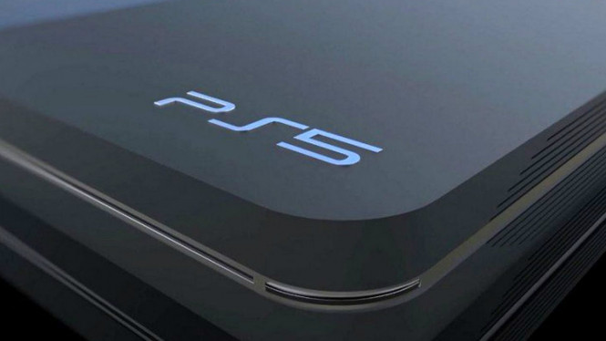 Ilustrasi PlayStation 5.