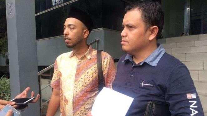 Ketua Bidang Hukum dan Advokasi Cyber Indonesia, Aulia Fahmi.