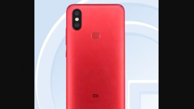 Bocoran tampang Xiaomi Mi 6X yang akan dirilis pada 25 April 2018 di China.