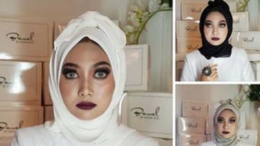 Hijab mirip pocong