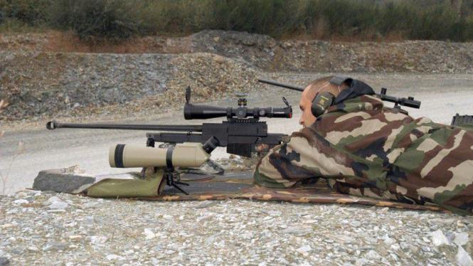 Senapan jenis Lapua Magnum 338